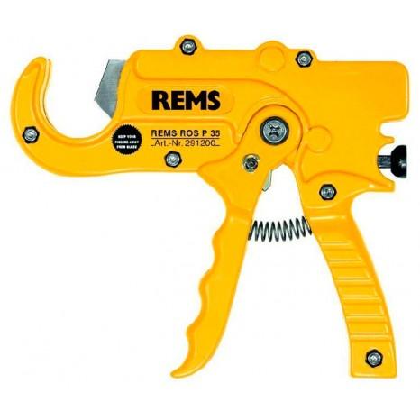Труборез для пластиковых и металлопластиковых труб Rems ROS P 35