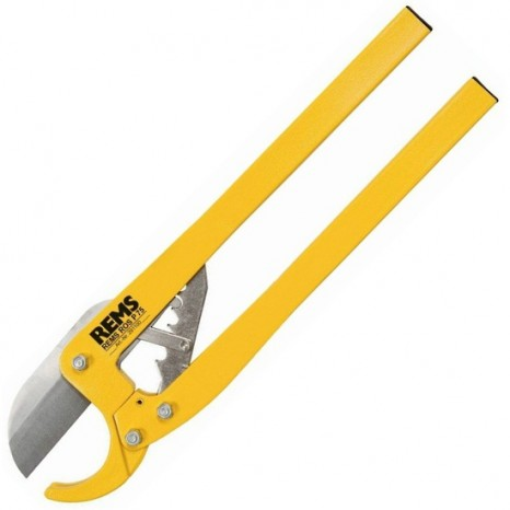 Ножницы для резки пластиковых труб Rems ROS P 75