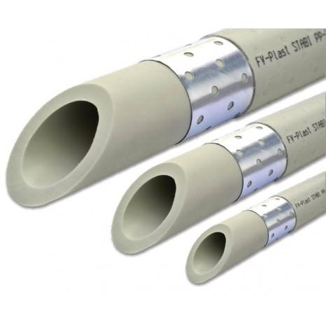 Труба полипропиленовая FV-Plast PN 20 STABIOXY с алюминиевой вставкой