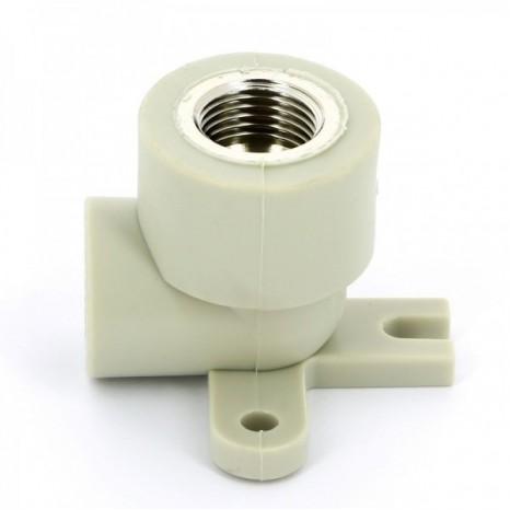 Настенный угол с металлической внутренней резьбой FV-Plast