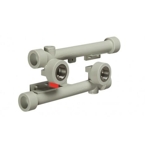 Настенный комплект (двойное настенное колено) FV-Plast