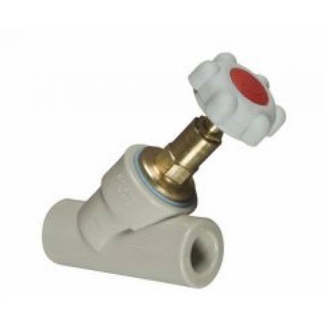 Вентиль косой с обратным клапаном FV-Plast